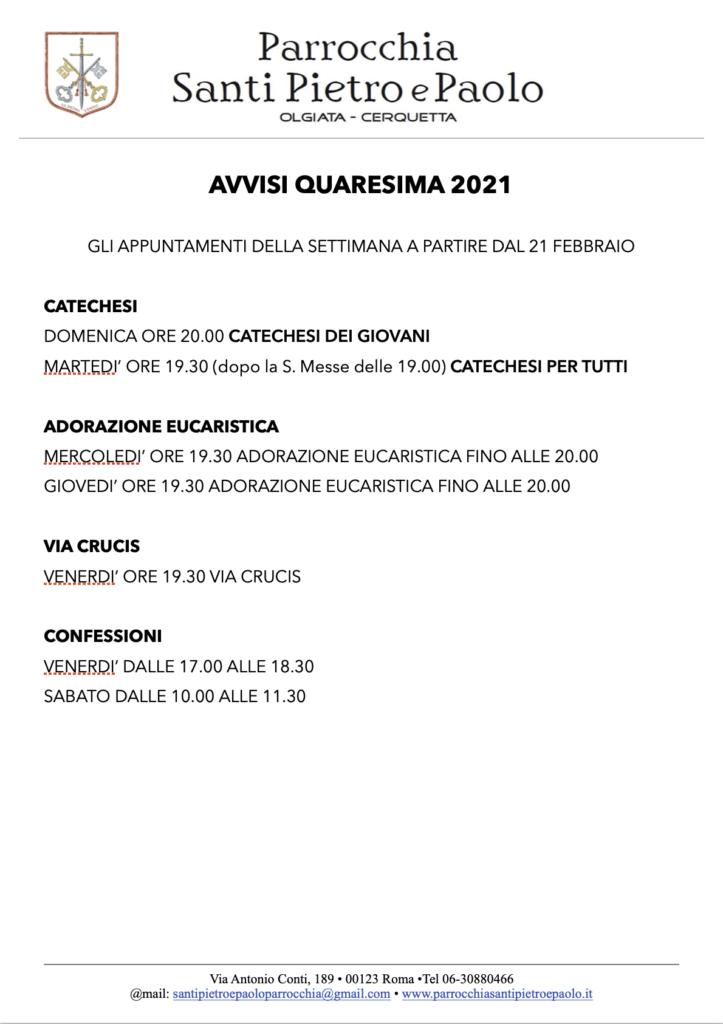 appuntamenti-quaresima-2021